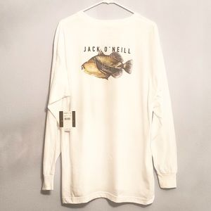 Jack O'Neill Trigger Fish Shirt Sizes Large and M